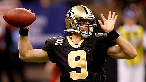 Drew Brees NFL Daily and Weekly Fantasy Football Stud