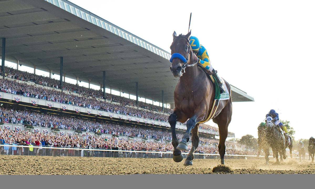 time of belmont stakes 2020