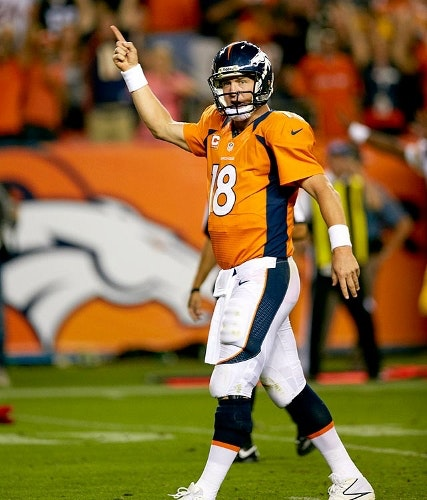 Peyton Manning Daily Fantasy Sports Star QB