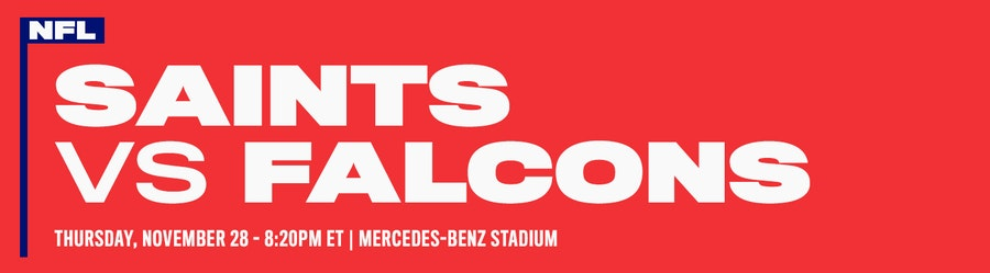 New Orleans Saints vs Atlanta Falcons NFL