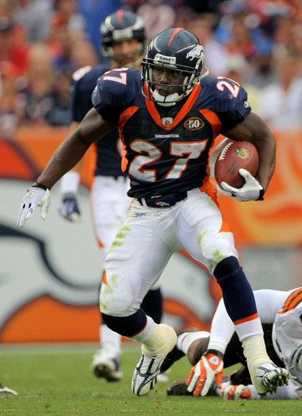 Knowshon Moreno Weekly Fantasy Football Stud