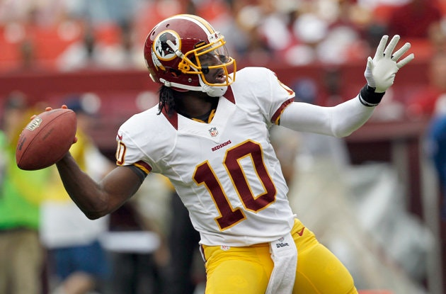 Robert Griffin III RG3 Daily Fantasy Football Fanex