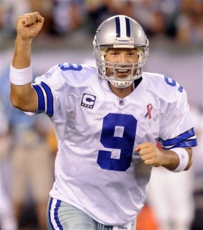 Tony Romo NFL Daily Fantasy Football Stud EasyScore Pickem