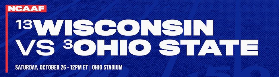 Wisconsin vs Ohio State NCAAF