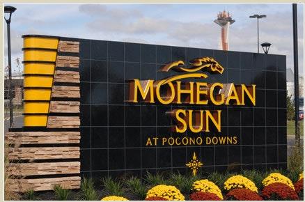 Mohegan Sun Pocono Downs Harness Racing