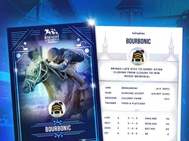 Kentucky Derby Trading Cards 2021 - Bourbonic
