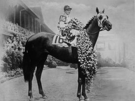 Brokers Tip wins the 1933 Kentucky Derby