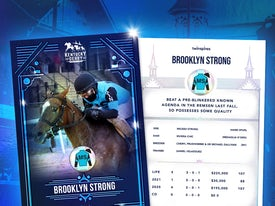 Kentucky Derby Trading Cards 2021 - Brooklyn Strong