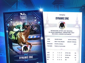 Kentucky Derby Trading Cards 2021 - Dynamic One