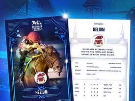 Kentucky Derby Trading Cards 2021 - Helium