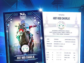 Kentucky Derby Trading Cards 2021 - Hot Rod Charlie