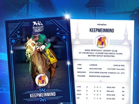 Kentucky Derby Trading Cards 2021 - Keepmeinmind