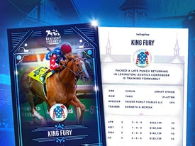 Kentucky Derby Trading Cards 2021 - King Fury
