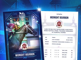 Kentucky Derby Trading Cards 2021 - Midnight Bourbon