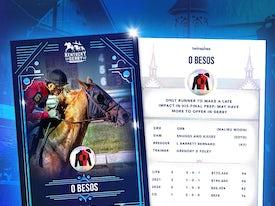 Kentucky Derby Trading Cards 2021 - O Besos