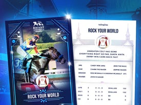 Kentucky Derby Trading Cards 2021 - Rock Your World