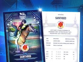 Kentucky Derby Trading Cards 2021 - Sainthood