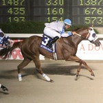 WAtergirl B scored at a price in the Lee Berwick Futurity at Delta Downs