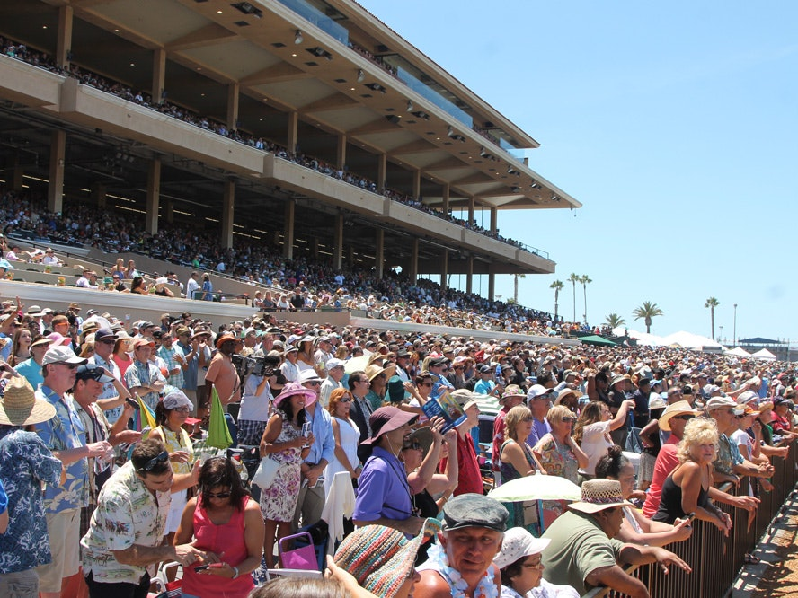 del mar race track opening day 2020