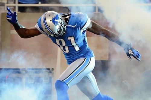 Calvin Johnson Daily Fantasy Football Pick Stud Wide Receiver