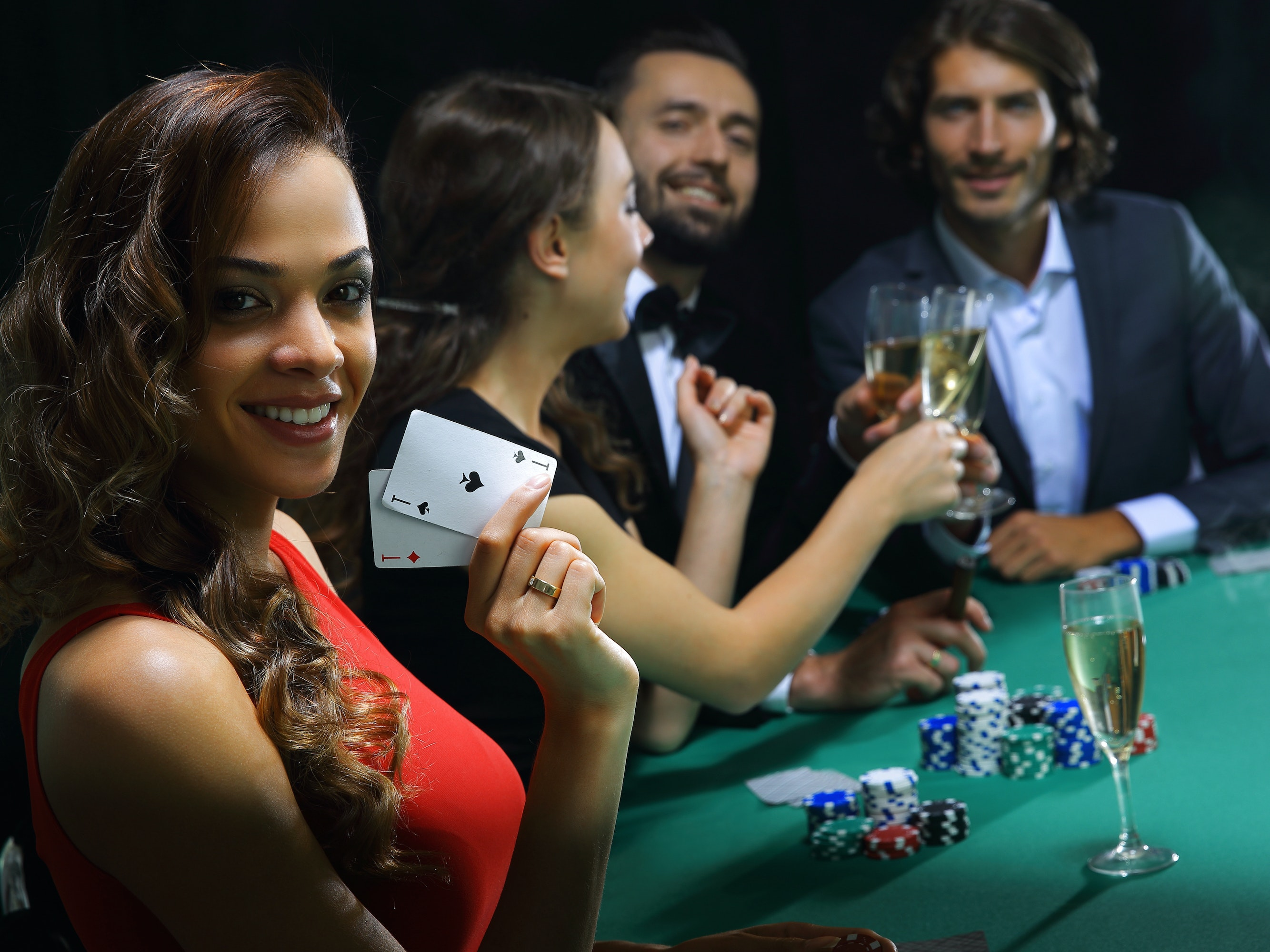 Dana white plays blackjack