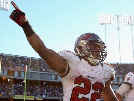Doug Martin Rushing Roulette Daily Fantasy Stud