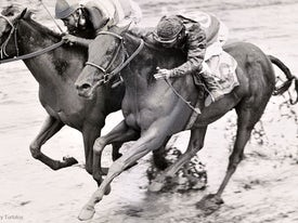 Carry Back 1961 Florida Derby (Keeneland Library/Jim Raftery Turfotos)
